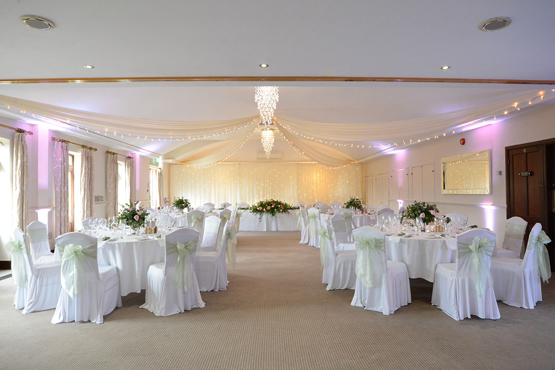 Wedding main function suite at Silvermere